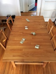 Dining table for sale (frankrolf) Tags: bertil craigslist ikea norden