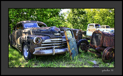 Oldies (the Gallopping Geezer 3.8 million + views....) Tags: car automobile truck oldie vintage classic old historic abandoned decay decayed worn derelict faded masonmotors collection forsale mason mi michigan upperpeninsula past canon 5d3 tamron 28300 geezer 2016