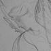 CHASSERIAU Théodore,1843 - Ste Marie l'Egyptienne, Assomption, Etude pour l'Eglise St-Merri, Paris (drawing, dessin, disegno-Louvre RF24732) - Detail 11