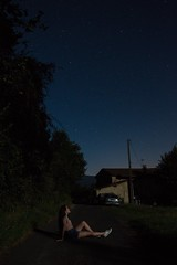 DSC_1301 (justinecharrel) Tags: sky night nuit ciel toiles stars shootingstars filantes france nikon nikond3200 vacances t summer holidays aout august girl french auvergne nature photographer photography beautiful out landscape tree