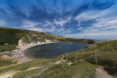 Lulworth Cove, Dorset (Larrie Tiernan) Tags: lulworthcove dorset landscape sigma1224mm