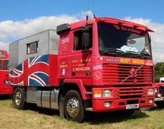 L713 EBW (Nivek.Old.Gold) Tags: 1993 volvo f10 intercooler tractor unit 9603cc vnicholson haile heavy haulage