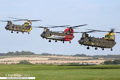 ZA683, ZA712 & ZH777 - Boeing Chinook HC4s - No. 27, 18 & 28 Sqns, RAF (KarlADrage) Tags: za683 za712 zh777 boeing chinook chinookhc4 hc4 27sqn 27squadron 18sqn 18squadron 28sqn 28squadron raf royalairforce spta rafodiham salisburyplaintrainingarea wokkaformation