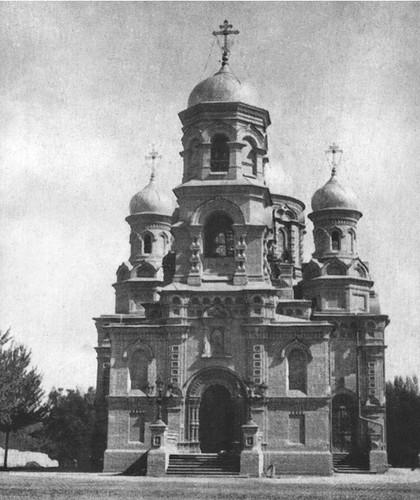 Церковь св. Сергия Радонежского. Вид с запада