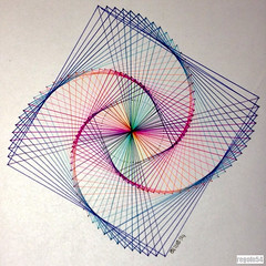 20160124 (regolo54) Tags: regolo54 geometry symmetry pattern mathart square circle disk escher sacredgeometry mandala evolution progression handmade