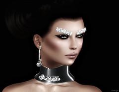 Splendor (Eurdice Qork) Tags: model fashion sexy jewerly jewels chopzuey glam glamour glamorous art artistic woman virtual secondlife sl photoshop