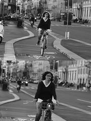 [La Mia Citt][Pedala] con il BikeMi (Urca) Tags: milano italia 2016 bicicletta pedalare ciclista ritrattostradale portrait dittico nikondigitale mir bike bicycle biancoenero blackandwhite bn bw bnbw 881143 bikemi bikesharing
