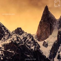 Lady Finger Peak (ghalibhasnain) Tags: hunza gilgit sunset peak ice mountains pakistan