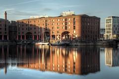 0190 (ElitePhotobox2) Tags: albert dock liverpool hdr luminance krita linux boats tugs steam reflections