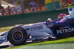 Robert Kubica (.Stupix) Tags: robert kubica poland bmw sauber petronas australiangrandprix australia albertpark victoria melbourne motorsport formula1 f1 formulaone grandprix race pentax