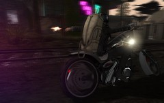 Born To Be Wild (Nospherato Destiny) Tags: bw biker epia malefashion scars secondlife sl blogger police photograph newreleases