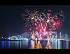 After the distance (HakWee) Tags: mbs marinabaysands fireworks f1singapore f1singapore2016 panorama