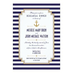 (Stylish Nautical Rehearsal Dinner Invitation) #Anchor, #Blue, #BlueLines, #Chic, #Classic, #Clean, #Collections, #Crisp, #Design, #Elegant, #FauxGold, #Fresh, #GoldColor, #Hip, #Married, #Modern, #Nautical, #New, #Pretty, #RehearsalDinner, #Striped, #Str (CustomWeddingInvitations) Tags: stylish nautical rehearsal dinner invitation anchor blue bluelines chic classic clean collections crisp design elegant fauxgold fresh goldcolor hip married modern new pretty rehearsaldinner striped stripes trend trendy vertical wedding weddings white is available custom unique invitations store httpcustomweddinginvitationsringscakegownsanniversaryreceptionflowersgiftdressesshoesclothingaccessoriesinvitationsbinauralbeatsbrainwaveentrainmentcomstylishnauticalrehearsaldinnerinvitation weddinginvitation weddinginvitations