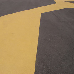 cap de cavalleria (the incredible how (intermitten.t)) Tags: menorca espaa balearicislands baleares illesbalears minorca capdecavalleria far lighthouse minimal ground tarmac yellow 20151001 3051 espaa