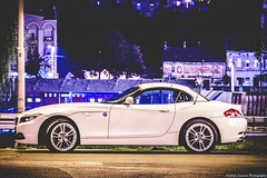 BMW Z4 (Andrija Zecevic Photography) Tags: canon eos 700d 135mm long exposure longexposure shot photo photography photos street night nightphotography nightshot belgrade serbia nights nightstreet belgradenights bmw z4 car cars roadster convertible faded fade fadedshot