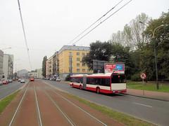 Solaris Urbino 18III, #555, PKM Sosnowiec (transport131) Tags: bus autobus pkm sosnowiec kzk gop solaris urbino