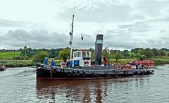 return of the kerne (midcheshireman) Tags: boat ship tug river weaver cheshire