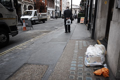 20160928T13-02-25Z-DSCF4217 (fitzrovialitter) Tags: geotagged fitzrovia fitzrovialitter camden westminster rubbish litter dumping flytipping trash garbage london urban street environment streetphotography westend peterfoster documentary fuji x70 fujifilm gpicsync captureone