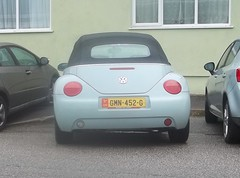 A Long Way From Home (occama) Tags: isle man car manx plate registration number cornwall vw beetle convertible