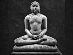Jain Svetambara Tirthankara in Meditation (Joe Josephs: 2,861,655 views - thank you) Tags: blackandwhitephotography blackandwhite fineartphotography fineartprints art artmuseums sculpture met metmuseum metropolitanmuseumofart nyc newyorkcity culture travelphotography travel india ancientindia