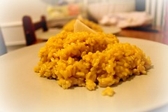 Risotto with saffron (Lidia Del Prete) Tags: k