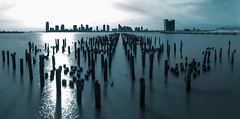 366 #264 Blue river (Matthieu GILLES) Tags: newyork photooftheday longtimeexposure 366 365project projet366