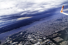 Over Manaus (MURUCUTU) Tags: city cidade brazil airplane photography rainforest wing brasilien asa fotografia manaus gol norte amazonas brsil rionegro murucutu flygol