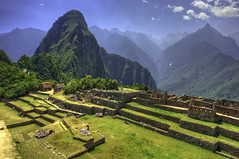 Machu Picchu (Michael Lawenko dela Paz) Tags: peru southamerica day cusco unescoworldheritagesite andes top20nature machupicchu urubamba archeologicalsites ancientcultures perutravel traveltoperu incaempire ancientcivilizations cityoftheincas historicsanctuaryofmachupicchu incancivilization pwpartlycloudy