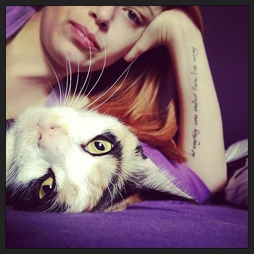olivia and me