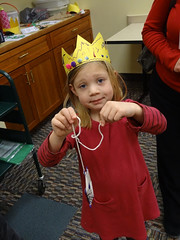 Her Majesty (Geauga County Public Library) Tags: holidays craft hermajesty christmasaroundtheworld multiculturalchristmas 20121221middlefieldchristmasaroundworld