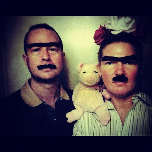 We went through a #fridakahlo phase, but couldn