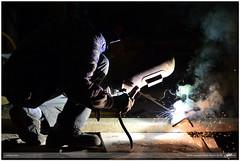 welding time (guido ranieri da re: work wins, always off) Tags: nikon welding buildingsite indianajones d800 cantiere saldatura mygearandme mygearandmepremium nonsonoglianniamoresonoichilometri guidoranieridare weldingtime tempodisaldare
