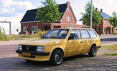 Opel Kadett Caravan 1.3S 1980 (XBXG) Tags: auto old classic netherlands car station vintage germany wagon deutschland automobile estate nederland voiture german caravan 1980 paysbas friesland opel deutsch ancienne kadett frysln 13s opelkadett allemande noordwolde