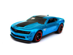 HotWheels - 2013 Hot Wheels Chevy Camaro Special Edition (Leap Kye) Tags: blue car model paint candy metallic special hotwheels 164 sema 2012 diecast armedclown309