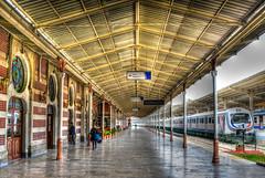 Sirkeci Train Station Istanbul Turkey (mbell1975) Tags: station train turkey trkiye platform rail railway bahnhof istanbul terminal trkei trainstation hdr turkish trk railstation sirkeci gar