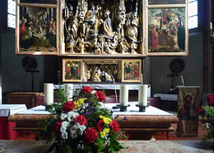 Michael Pacher, Sankt Wolfgang Altarpiece with altar