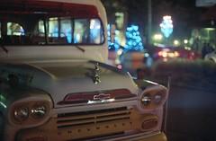 (yago_x) Tags: christmas old bus chevrolet car natal navidad gm bokeh american