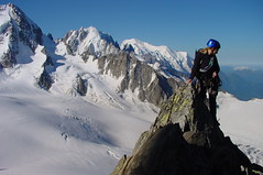 20020719_085331_00 (Phil Ingle) Tags: martina alpineclimbing aiguilledutour tableduroc