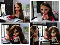 NÃO PERTURBE ! Dolls trabalhando.