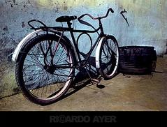 HAND PAINTING (RICARDO AYER) Tags: bike bicicleta plusxpan handpainting fotografiaanalgica pinturaamo ricardoayer fotografiacomfilme