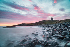 """Sunrise at Dunstanburgh Castle, Northumberland<br /><span style=""""font-size:0.8em;"""">This image is part of a photoshoot that is discussed in Ian Purves blog -  <a href=""""http://purves.net/?p=770"""" rel=""""nofollow"""">purves.net/?p=770</a><br />Title: Sunrise at Dunstanburgh Castle, Northumberland<br />Location: Dunstanburgh Castle, Northumberland, UK</span> • <a style=""""font-size:0.8em;"""" href=""""https://www.flickr.com/photos/21540187@N07/8349761692/"""" target=""""_blank"""">View on Flickr</a>"""