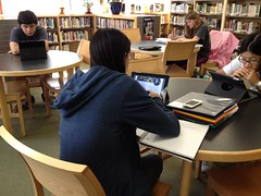 iPads in lib (wlibrary) Tags: library libraries whslibrary ipadsinlibraries