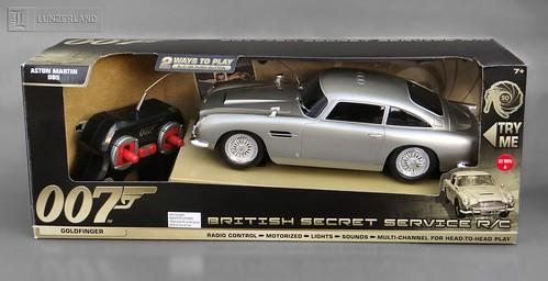 James Bond Light Sound British Secret Service R C Aston Martin Db5 Goldfinger Mint In Box By Toystate A Photo On Flickriver