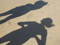 Shadows in the sand (joelaratta) Tags: lumix shadows panasonic dmcts3