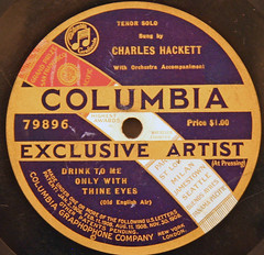 Columbia Exclusive Artist - 79896 (4) (Klieg) Tags: columbia brunswick victor 03 collection record victrola klieg 78s klieger