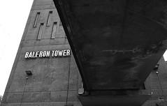 Balfron Tower, London, E14 (stupidpony) Tags: white black london tunnel approach goldfinger blackwall balfron ern 1224nikonbalfrontowerpoplarrainy