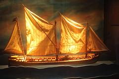 Ship In Fire!