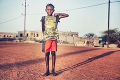 A girl in Palmarin (samthe8th) Tags: africa travel photography nikon village shrek suzanne senegal d800 travelphotography withsuzanne samgellman
