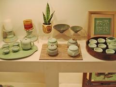 ceramics (Myumeful) Tags: china winter plant green cup glass shop wall set ceramic table asian asia ceramics tea chinese beijing cups peking 2012 2011 servies