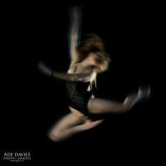Jump (Ade Davies Photography) Tags: shadow dog blur fashion backlight dance movement nikon lingerie outoffocus redhead backlit lowkey icm studiolighting 2470f28 d700 intentionalcameramovement adriandavies auburnrose daviesphotography